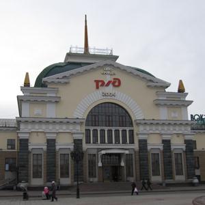 Железнодорожные вокзалы Верхних Кигов